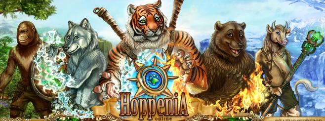 Хоппения (Hoppenia) - Совершенно новая, уникальная браузерная игра.