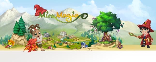 МираМагия - браузерная онлайн игра для детей