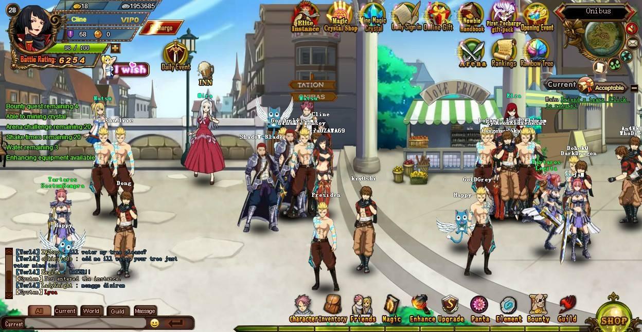 Ролевая игра fairy tail шаман кинг 2 ролевая игра