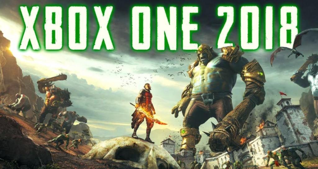 Популярные игры на Xbox One 2018